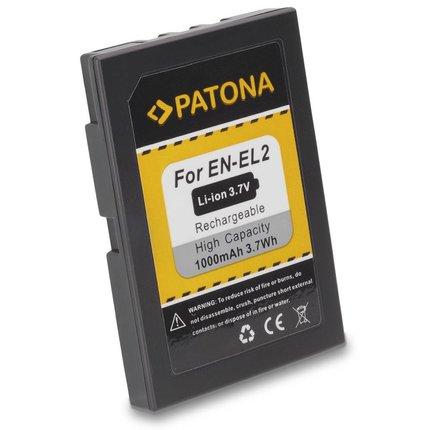 Patona Battery Charger for Nikon EN-EL2 Coolpix 2500/2300 EN-EL2 ENEL2