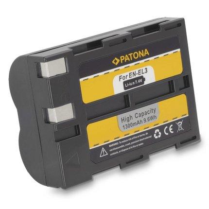 Patona Accu Nikon EN-EL3 ENEL3 D50, D70, D100 SLR SD9 - 1035