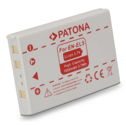Patona Battery NIKON 7900 5900 5200 4200 3700 EN-EL5 ENEL5