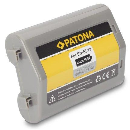 Patona Accu Nikon EN-EL18 ENEL18 D4 * Samsung cellen - 1137