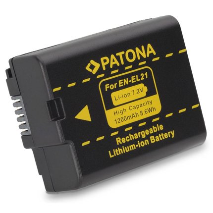 Patona Accu Nikon ENEL21 EN-EL21 - 1153