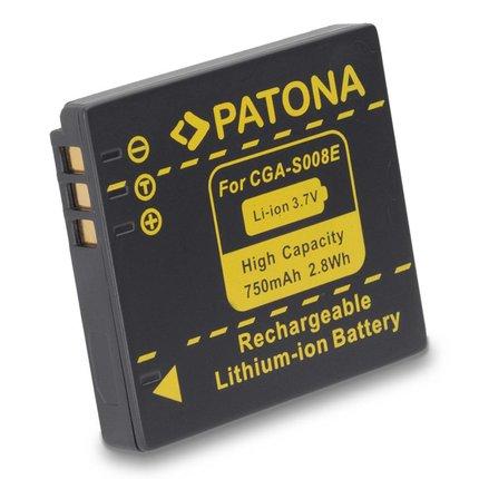 Patona Battery CGA-S009 Panasonic - 1044