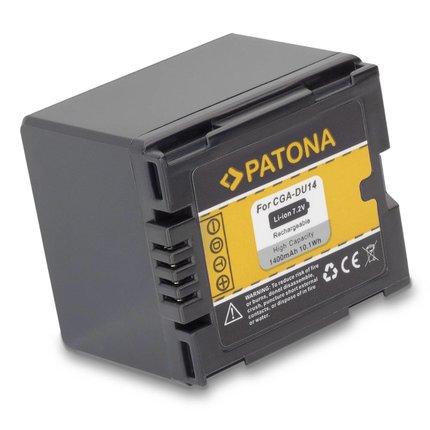 Patona Battery NV-GS250 NV-GS150 NV-GS140 NV-GS75, CGA-DU14