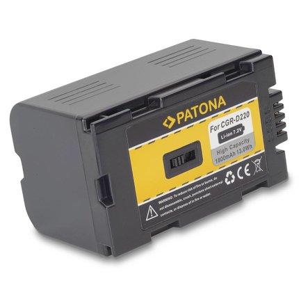 Patona Accu CGR-D220 Panasonic - 1047