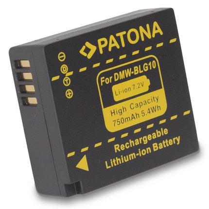 Patona DMW-BLG10 Panasonic DMC-GF6 - 1163