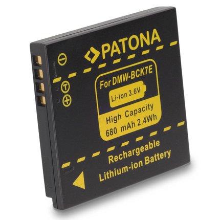 Patona Accu DMC-FH2 Panasonic Lumix DMC-FH2 FH5 FH7 FH25 DMW-BCK7E