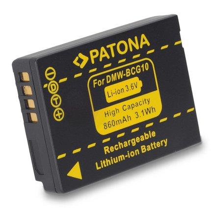 Patona Accu DMW-BCG10 Panasonic - 1075