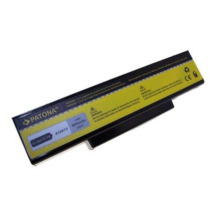 Patona Battery Asus K72 extra capacity - 6600 mAh