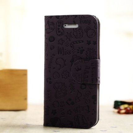 Batts Magic Girl Leather Case for iPhone 5
