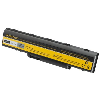 Patona Battery Acer AS07A31 AS07A41 AS07A51 AS07A52 AS07A71 AS07A72, 4400mAh, 11.1V, 6cells