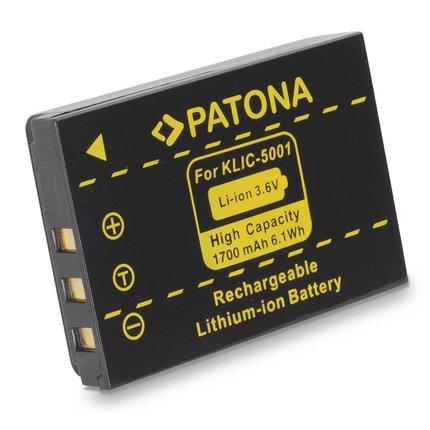 Patona Battery Kodak EasyShare Z730 DX7630 DX7590 KLIC-5001