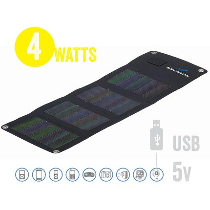 Brunton Solaris 4W USB - Foldable Solar Panel