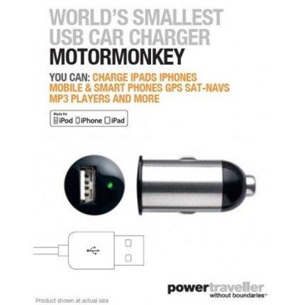 Powertraveller Motor Monkey USB car charger