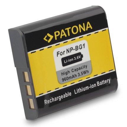 Patona Vervangende accu voor Sony NP BG1 DSC-W30 DSC-W35 DSC-W50 DSC-W55 DSCW70