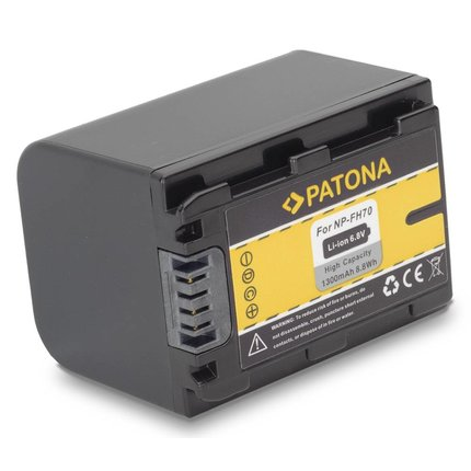Patona Replacement Battery for Sony NP-FH50 NP-FH60 NP-FH70 NP-FH100 Alpha A290 A390