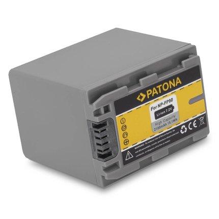 Patona Battery Sony NP-FP90 DCR-HC + DCR-DVD Series NP-FP50 NP-FP70 NPFP90
