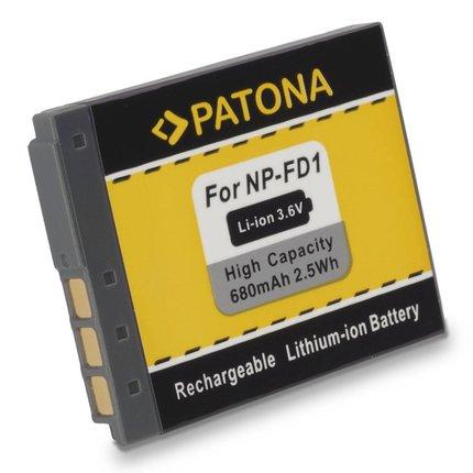 Patona Battery SONY DSC-T200 DSC-T70 DSC-T2 NP-BD1 NP-FD1 NPBD1