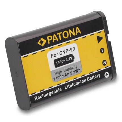 Patona Battery Casio Exilim EX-H10 EX-H-10 NP-90 NP90 EXH10