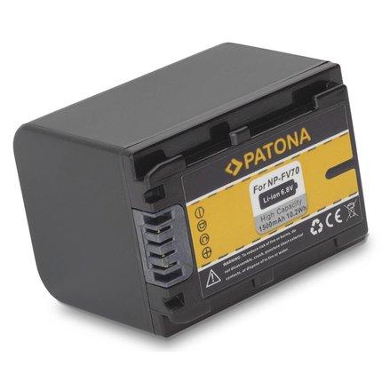 Patona Battery SONY HDR-XR150, HDR-XR150E, HDR-XR350, HDR-XR350