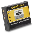 Patona Vervangende accu voor Casio NP130 NP-130 Casio EX-H30 Casio EX-ZR100