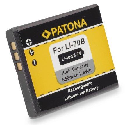 Patona Battery OLYMPUS FE4020 FE4040 FE5040 Li70b Li-70b VG110