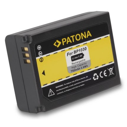 Patona Batteries Samsung NX200 NX-200 BP1030 BP-1030