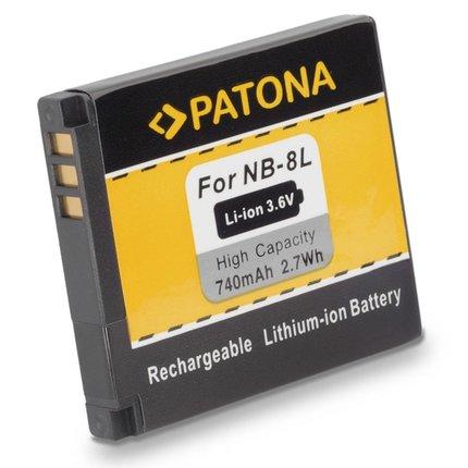 Patona NB-8L Canon Accu - 1113