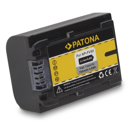 Patona Accu Sony HDR-CX110 HDR-CX170 NP-FV30 NP-FV50 NP-FV100