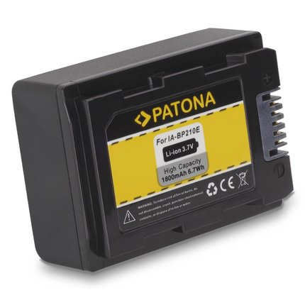 Patona Batteries Samsung SMX-F40 SMX-F43 SMX-F44 SMX-F53 SMX-F54 SMX-F400