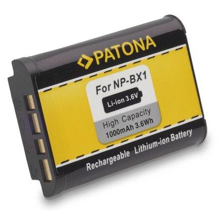 Patona Vervangende accu voor Sony NP-BX1 NPBX1 DSC-RX100 DSC RX100