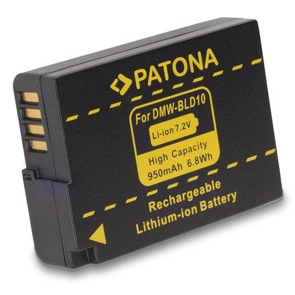 Patona Accu voor Panasonic BLD10 BLD10E DMC-GF2 GF2