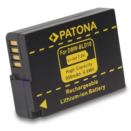 Patona Battery for Panasonic DMC-GF2 GF2 BLD10 BLD10E