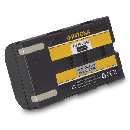 Patona Battery Samsung SB-LSM80 163i 350i 467i D351i D352i D453i D963i d965Wi