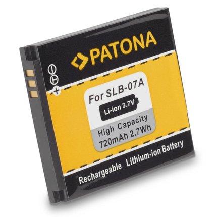 Patona Battery Samsung SLB-07A ST50 ST550 PL150 PL150 TL90 TL100 TL210 TL220