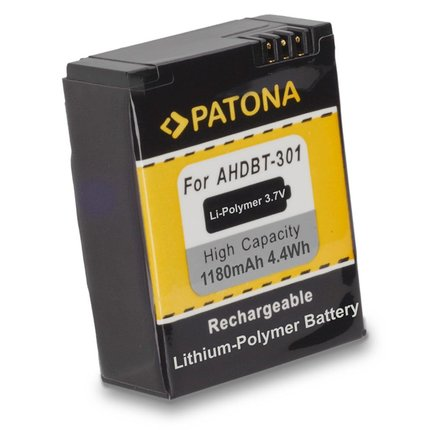 Patona Replacement Battery for GoPro HD Hero 3 AHBT-201 - 1150