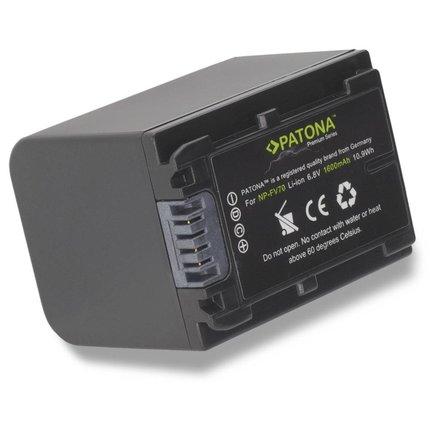 Patona Premium Battery Sony NP-FV30 NP-FV50 NP-FV70 NP-FV100 DCR SR21E