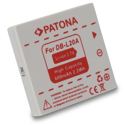 Patona Accu Sanyo DB-L20A DB-L20AEX SANYO Xacti DMX-C1 DMX-CA65