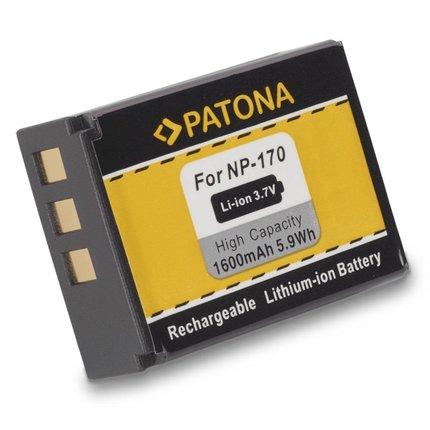 Patona Accu Ordro CB170 CB-170 NP170 Medion Life MD86423 MD86423