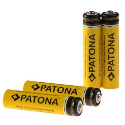Patona AAA 900 mAh Mignon batterijen incl. Opberbox
