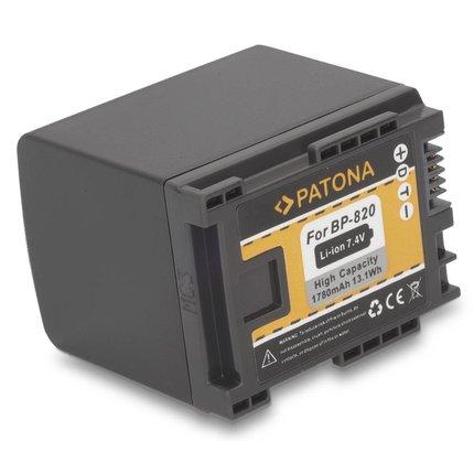 Patona Battery for Canon BP-820 Canon HF G30 Canon XA20 Canon XA2
