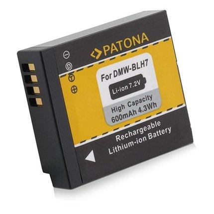 Patona Battery Panasonic DMC-GM1 DMW-BLH7E GM1 BLH7E