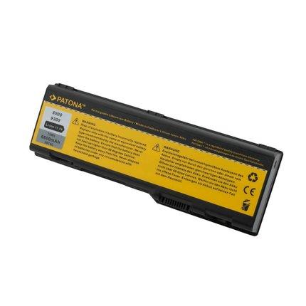 Patona Battery Dell 310-6321 312-0340 D5318 G5260 6000 - More Power 6600mA