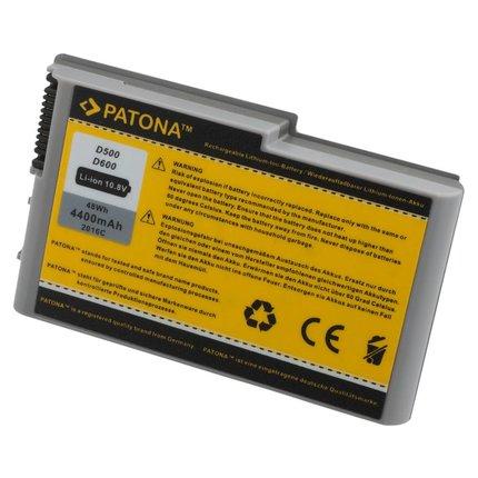 Patona Battery for DELL D500 D510 D600 D610 3R305 500M 07W999