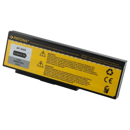Patona Accu voor MEDION MD41621 MD41638 MD8089 MD95062 MD95135
