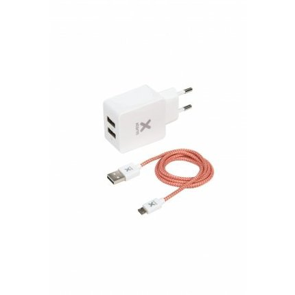 Xtorm Micro USB-kabel + adapter