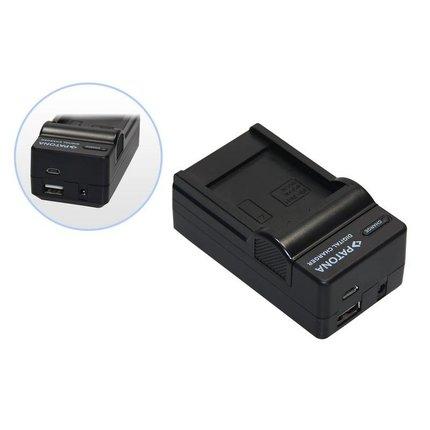Patona 4 in 1 oplader voor Samsung NX1 NX-1 ED-BP-1900 BP-1900