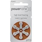 Powerone Powerone - Type 312 Brown - Blister 6 pieces