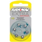 Rayovac Rayovac Extra Advanced - Yellow Type 10 - 6 pcs blister