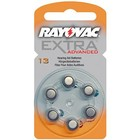 Rayovac Rayovac Extra Advanced - Type 13 Orange - 6 pcs blister