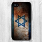 Batts Retro Israel vlag iPhone 4 cover